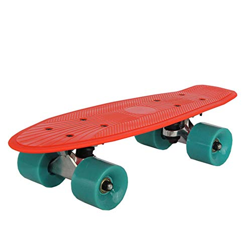 FGKING Complete Skateboard, Radically Intense Acceleration Waveboard with 360 Degree Caster Trucks and Anti Slip Concave for Kids Ages 8 and Up,1