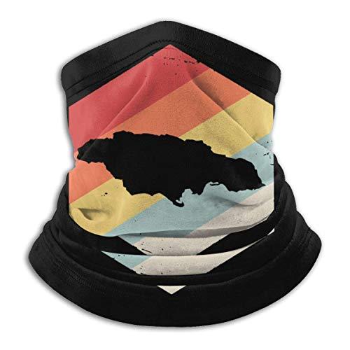 Xian Shiy Retro Jamaica Map Herren Wind & Windschutz Kopfbedeckungen für Snowboarder