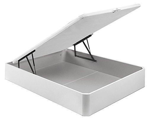 PIKOLIN CANAPÉ ABATIBLE NATURBOX Madera 3D -(90_x_190_cm, Blanco)