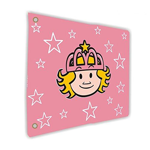 WICKEY Flagge Prinzessin 55x45cm