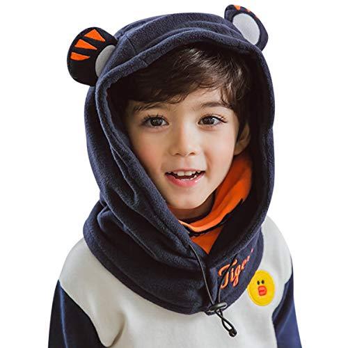 DORRISO Niños Bebe Gorra Otoño Invierno Cómodo Calentar Pequeña Pequeño Tigre Lindo...