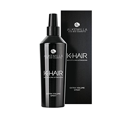 ALKEMILLA - Extra Volume Spray K-HAIR - Volumisant pour Tous les Types de Cheveux - Hydratant et Renforce les Cheveux - Vegan et Nickel Testé - 250 ml
