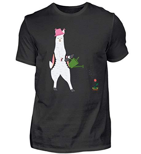Ideaal voor tuin en alpaca-fans - herenshirt