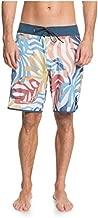Quiksilver Men's Highline 19 Inch Outseam Stretch Boardshort Swim Trunk, Snow White HV, 40