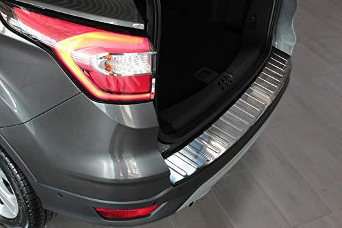 Recambo CT-LKS-1230 Protezione paraurti in Acciaio Inox Lucido Effetto Cromato per Ford Kuga II DM2   dal 2012, Large