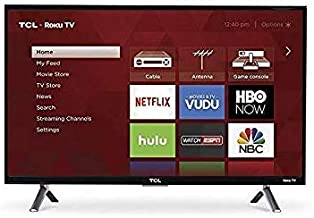 "TCL 49S403 49"" 4K UHD HDR Roku Smart LED TV (Renewed)"