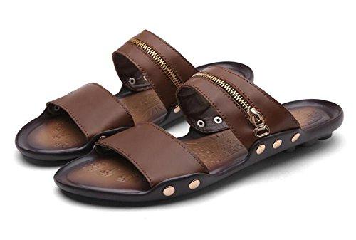 Zomer nieuwe trend van het woord drag mannen reizen strand sandalen casual herenschoenen, 1, 43