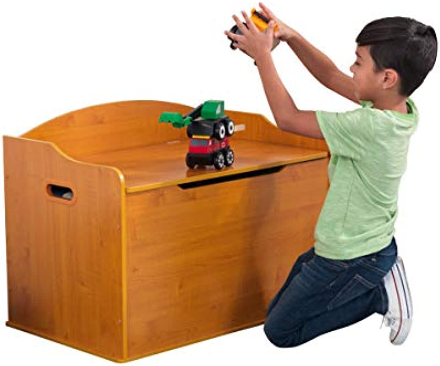 KidKraft 14954 Austin Toy Box, Honey