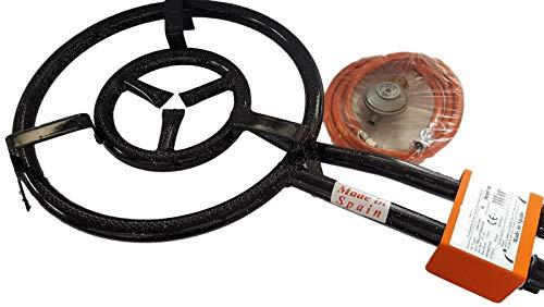 GC Hockerkocher Ringbrenner Gasbrenner 35 cm Paella 10 kw Deutsche Zulassung