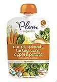 Plum Organics Stage 3, Organic Baby Food, Carrot, Spinach,...
