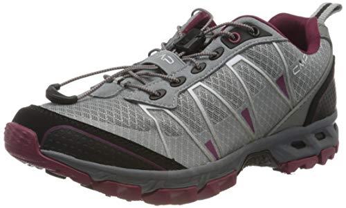 CMP – F.lli Campagnolo Damen Altak Wmn Trail Shoe Traillaufschuhe, Grau (Cemento-Goji 59UE), 40 EU