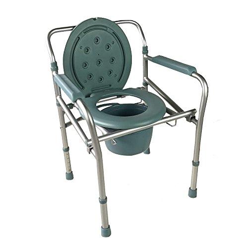 Chaise percée en aluminium pliable Mobiclinic