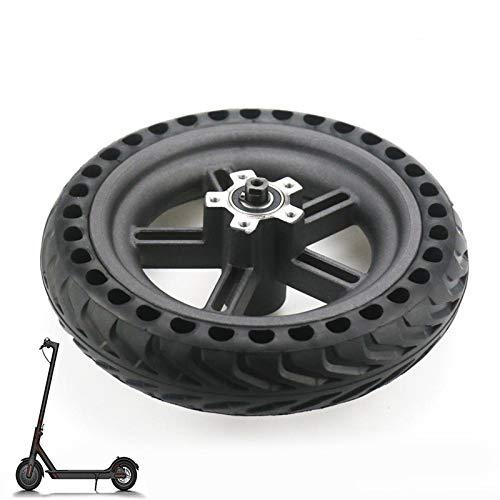 EMEBAY Neumáticos y Llantas sólida para Xiaomi M365 Scooter eléctrico de 8.5 Pulgadas Rueda de Scooter de reemplazo de amortiguación de Choque