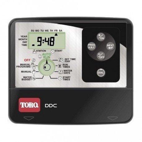 Programador de riego TORO DDC-4-220V de 4 estaciones Interior