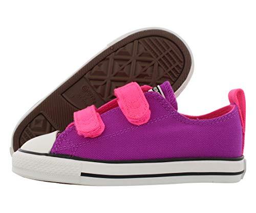 Converse Ct 2V Ox Infant/Toddler Shoe Size 10, Color: Purple Cactus/Pink