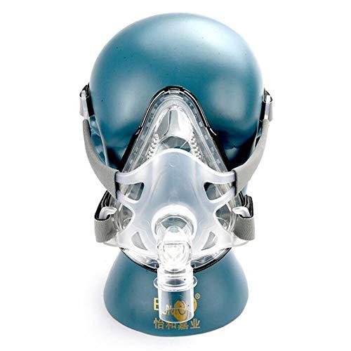 Amimilili Nasenkissen CPAP-Maske Schlafmaske Geeignet für Schlaf-Schnarch-Apnoe-Geräte,L