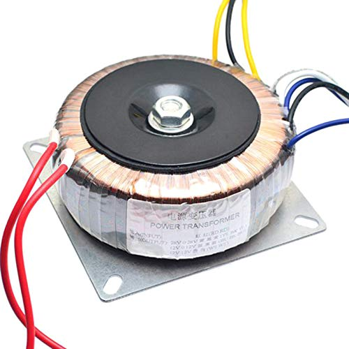 Nrpfell Dual AC 28V 12V Single 12V 200W Transformador para Preamplificador Amplificador...