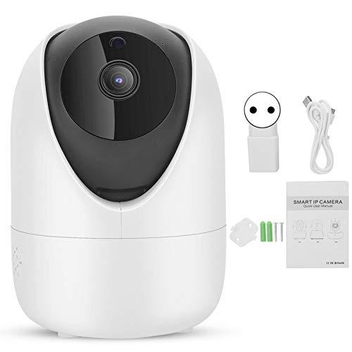 Cámara de Seguridad para el hogar, cámara de Video Inteligente 1080p WiFi, detección y Seguimiento de Movimiento humanoide Inteligente con visión Nocturna Ai(E)