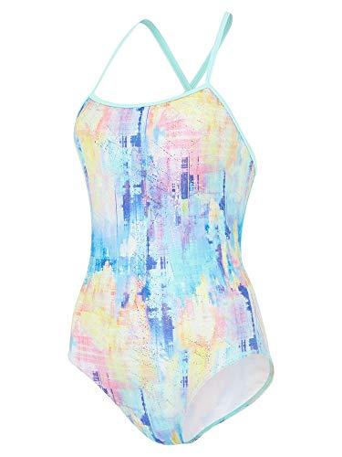 maru Damen Badeanzug FS9014-36, Mehrfarbig, 91,4 cm