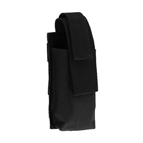 Gazechimp Sac De Rangement Portable Boucle Clasp Facile Attache Accessoire Housse Outil Garrot Cisaillère Médicale - Noir, 130mm * 60mm * 35mm