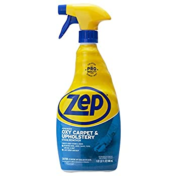 Zep ZUOXSR32 Advanced Oxy Carpet and Upholstery Stain Remover 32 Fl Oz Pack of 1
