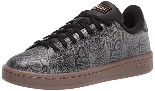 adidas Advantage Shoes Black/Black/Gold Metallic 10