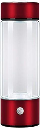 HshDUti Tragbarer wasserstoffreicher Wassermacher Ionizer Generator Flasche Gesundheitswesen USB Cup wine rot