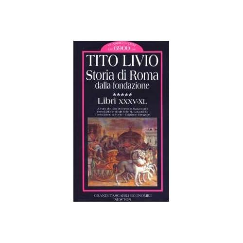Storia di Roma dalla fondazione. Testo latino a fronte: 5
