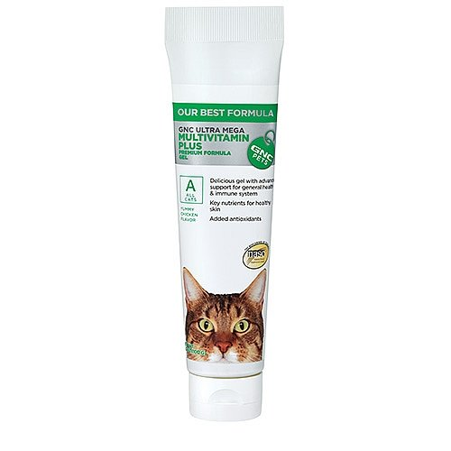 GNC Pets Ultra Mega Multivitamin Plus for All Cats - Chicken Flavor 3.5 oz.