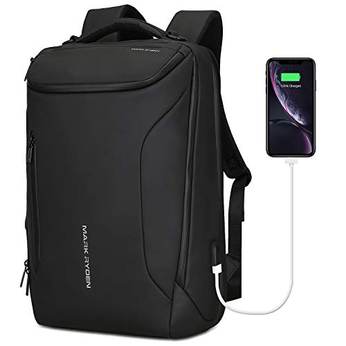 Mark Ryden Wasserdicht Laptop Rucksack mit USB 17.3 Zoll/15.6 Zoll für Männer...