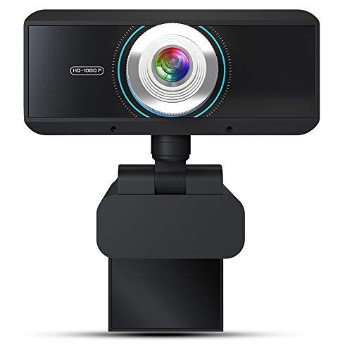 Ultra Clear HD Webcam 1080P Drive Gratis camera met microfoon Computer PC Mac-laptop Desktop Webcam voor Video Chat telefonische vergadering live uitzending