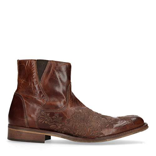 Sacha Schuhe - Herren Kurze Boots - Western - Braun
