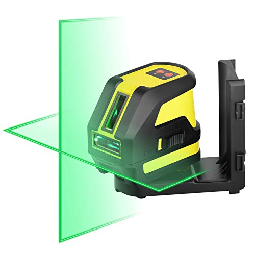 Firecore Green Laser Level Horizontal and Vertical Cross Line...