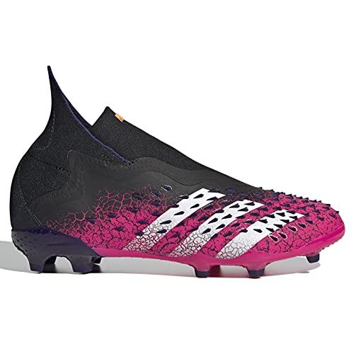adidas JR Predator Freak + FG - Black-Pink-Purple 5.5