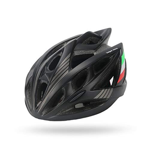 JM- Fahrrad Fahrradhelm Mountainbike Reithelm Roller Helm Einteiliger Outdoor-Sporthelm
