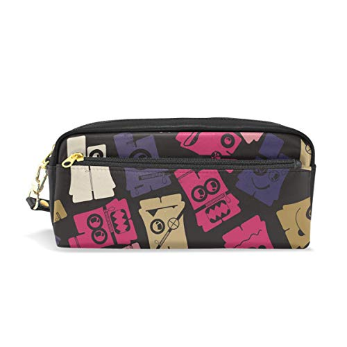 BONIPE Grappige Vintage Broek Patroon Potlood Case Pen Box Bag School briefpapier benodigdheden Reizen Cosmetische Make-up Bag