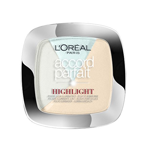 L'Oréal Paris Make Up Designer Accord Parfait Highlight Polvo.