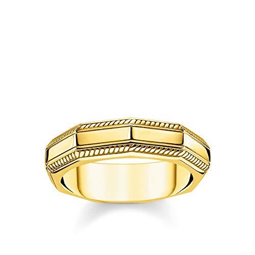 Thomas Sabo TR2276-413-39-54 Ring, uniseks, goud, 925 sterling zilver, geelgoud verguld