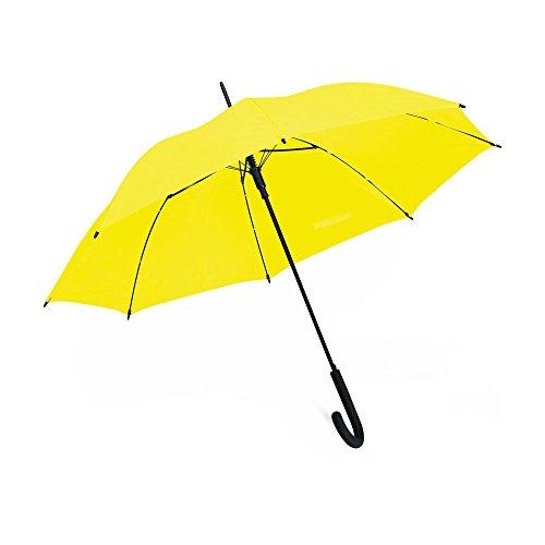 Paraguas clásico amarillo