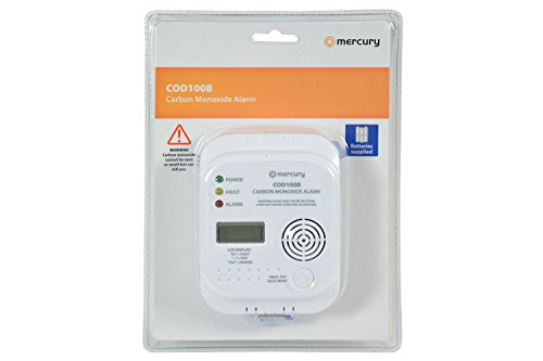 Mercury | Battery Operated Carbon Monoxide Alarm