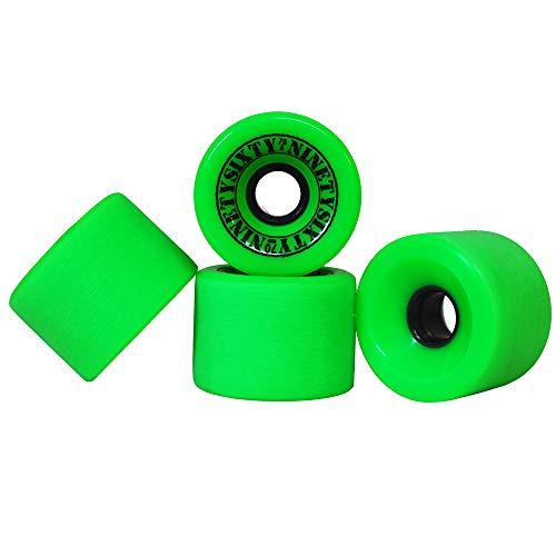 Ninetysixty Freeride Green 70mm/78a Rollen