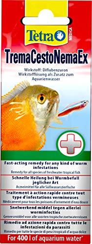 Tetra Medica TremaCestoNemaEx, 20 ml, hilft bei Fischkrankheiten wie z. B. Wurmbefall