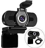 Aode 1080p Webcam Mac kompatibel Webcam Desktop Kamera und Mikrofon Webcam...