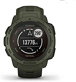 Garmin GM-010-02293-49 Instinct Solar Tactical Edition Smartwatch, Moss