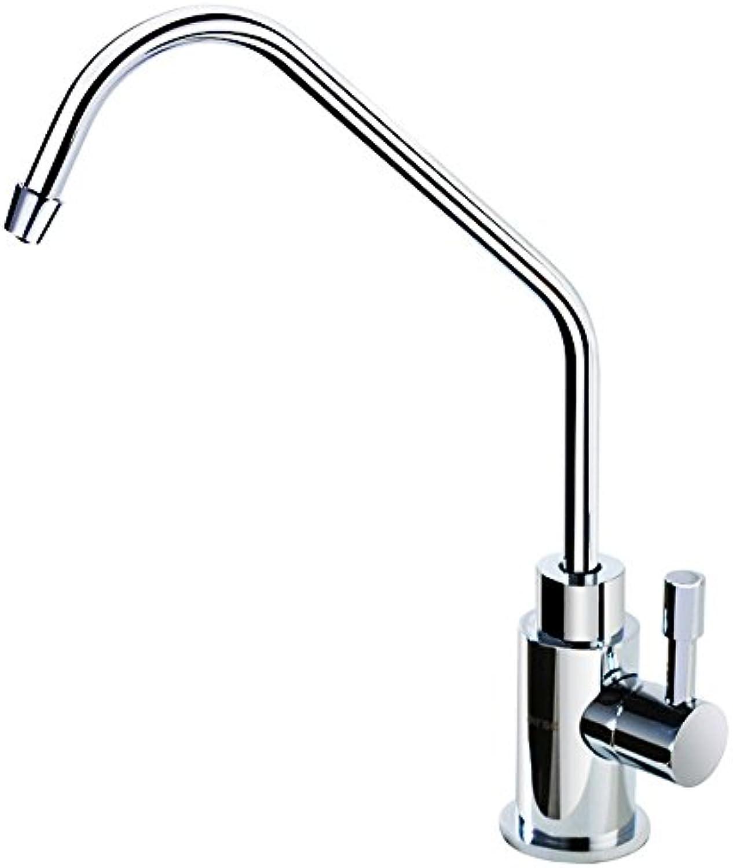 QIMEIM Wasserhahn Küche Küchenarmatur Messing Spültischarmatur Spülarmatur Spültisch Mischbatterie Spülbecken Küchenspüle