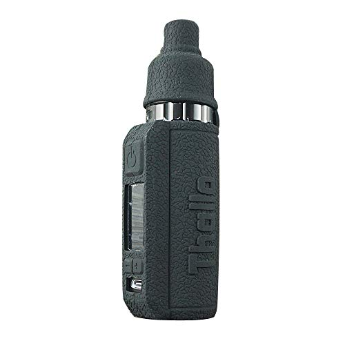 DSC-Mart Silicone Cover for Smok Thallo 80W Case Protective Sleeve Skin Shield Wrap (Black)