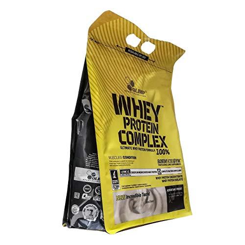 Olimp Whey Protein Complex 100% 700g 0,7kg Muskelaufbau Protein Pulver Molkenprotein (Double Chocolate)