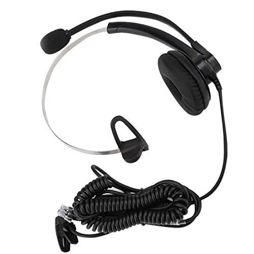 Kundtjänstheadset Professional Clear Call Voice Broadband HD-högtalare Telefonheadset, Kundtjänst Mail Headset