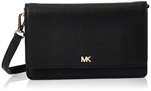 Michael Kors Womens MOTT PHONE CROSSBODY, BLACK, one size