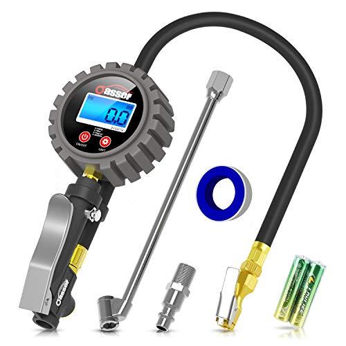 Oasser Manómetro Presión Neumáticos Digital